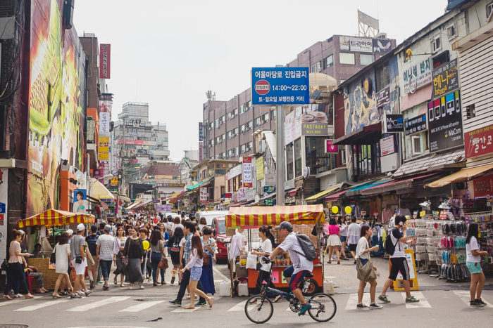 Where to stay in Seoul - Hongdae is great for nightlife due to its university student population.